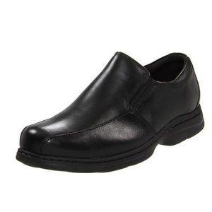 Dunham Men's Blair Slip-On,Black Smooth,10 D US